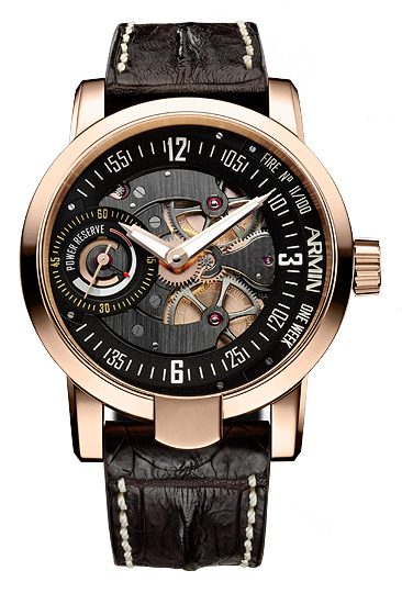 часы Armin Strom One Week Fire Rose Gold Limited Edition 100
