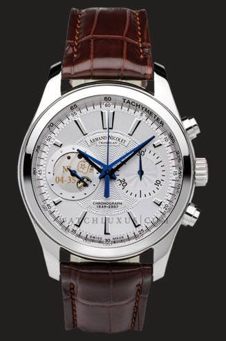 часы Armand Nicolet White Dial in Steel