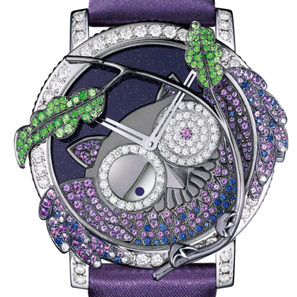 часы Boucheron Seconde Folle Owl