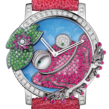 часы Boucheron Seconde Folle Frog