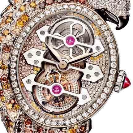 часы Boucheron Ladyhawke Tourbillon