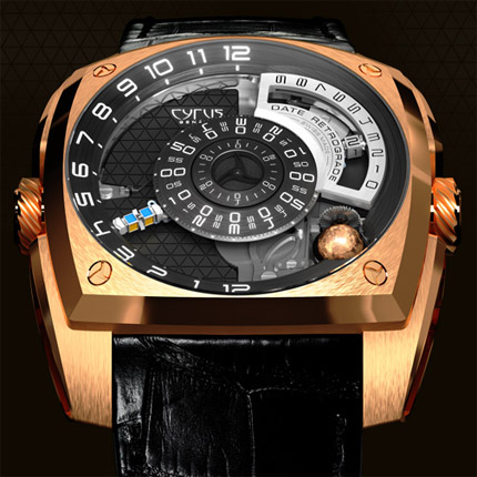 часы Cyrus Klepcys Pink Gold