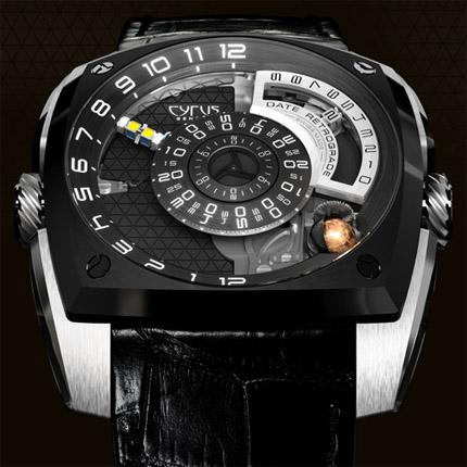 часы Cyrus Klepcys Titanium