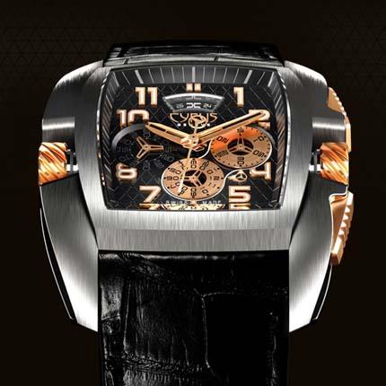 часы Cyrus Kuros Titanium and Red Gold