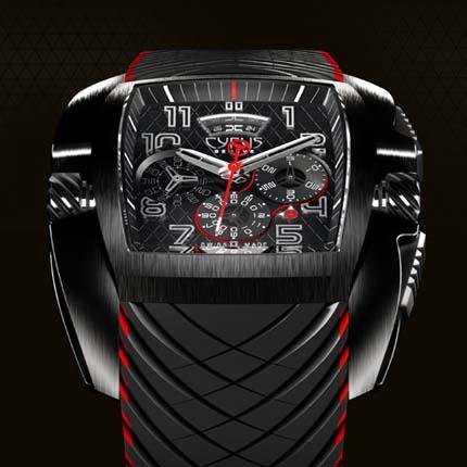 часы Cyrus Kuros Titanium PVD