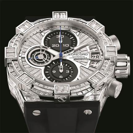 часы Concord Chronograph Baguette