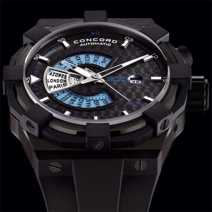 часы Concord WorldTimer