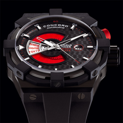 часы Concord WorldTimer Night Race Edition