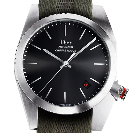 часы Dior Chiffre Rouge A03 Fabric Strap