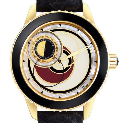 часы Dior Dior Christal Gold & Lacquer