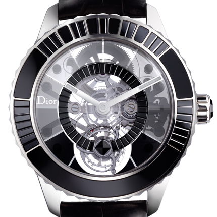 часы Dior Dior Christal Tourbillon Diamants Noirs