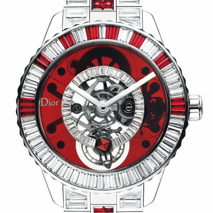 часы Dior Dior Christal Tourbillon Diamonds and Rubies