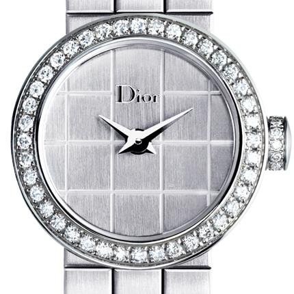 часы Dior La Mini D de Dior Steel Bracelet