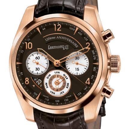 часы Eberhard & Co Chronographe 120ème Anniversaire