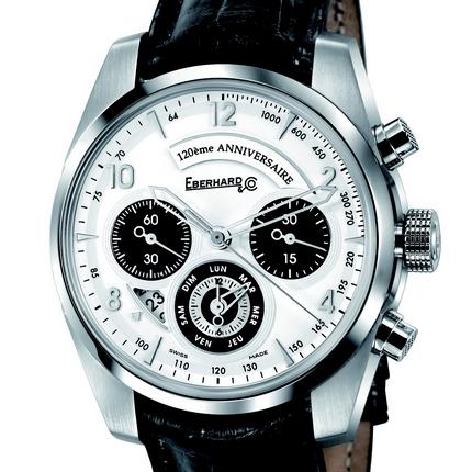 часы Eberhard & Co Chronographe 120eme Anniversaire - Mouvement