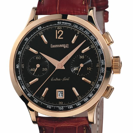 часы Eberhard & Co Extra-Fort Chrono en or