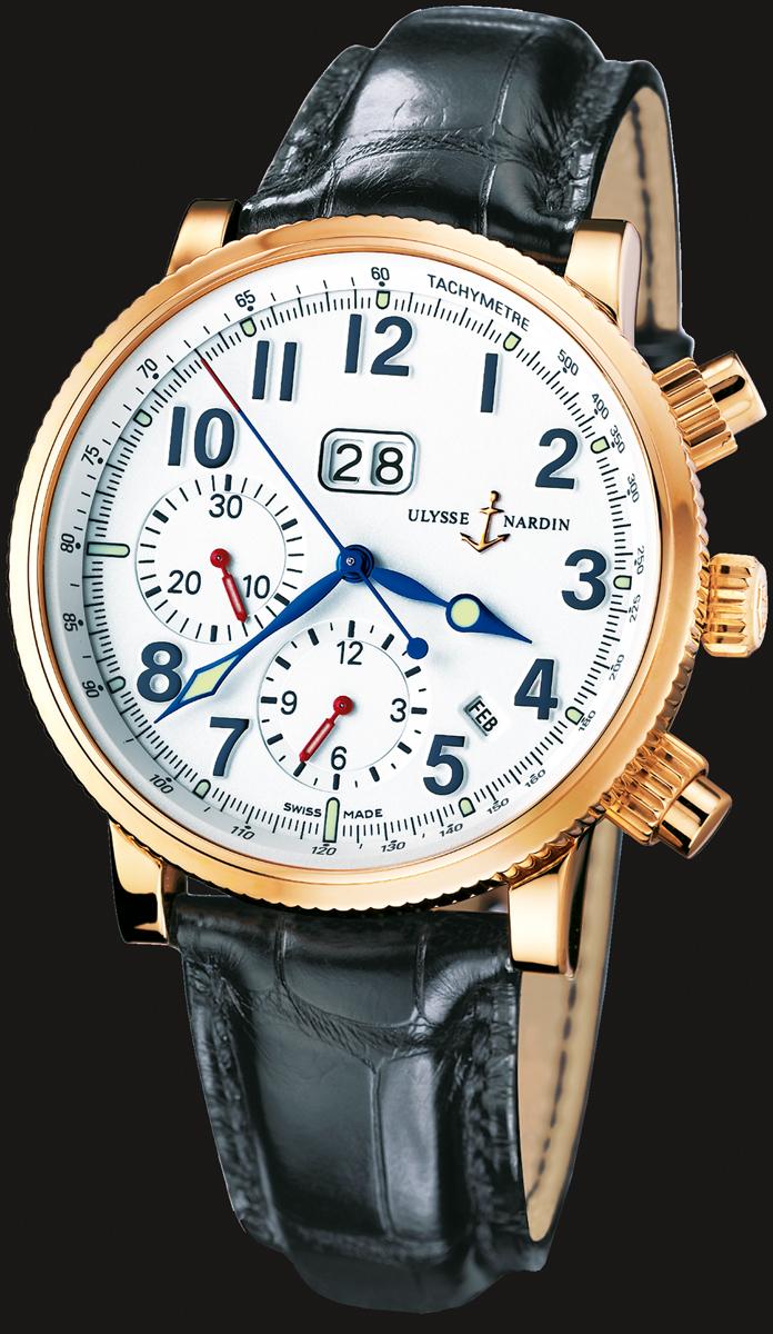 часы Ulysse Nardin Marine Annual Chronograph