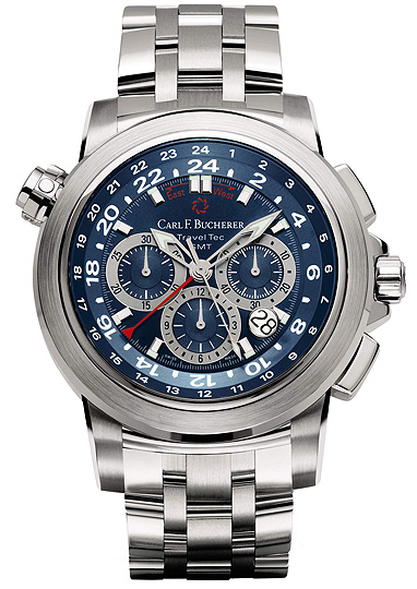 часы Carl F. Bucherer Patravi TravelTec Blue Wave