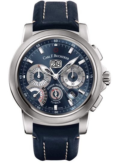 часы Carl F. Bucherer Patravi ChronoGrade Blue Wave