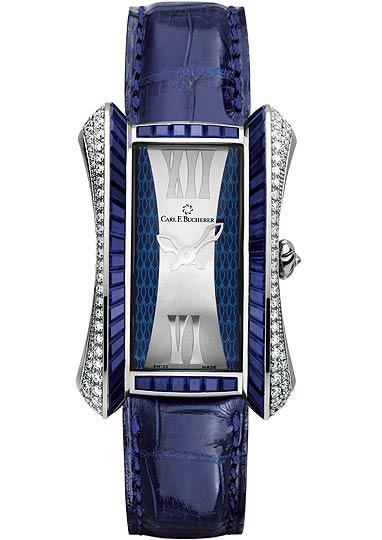 часы Carl F. Bucherer Alacria Diva Blue