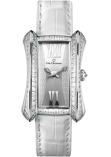 часы Carl F. Bucherer Alacria Diva White