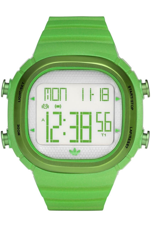 часы Adidas Adidas Ladies Green Seoul Digital Watch