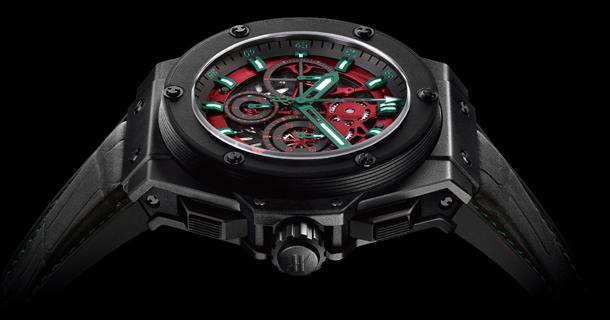часы Hublot King Power Gold Mexico