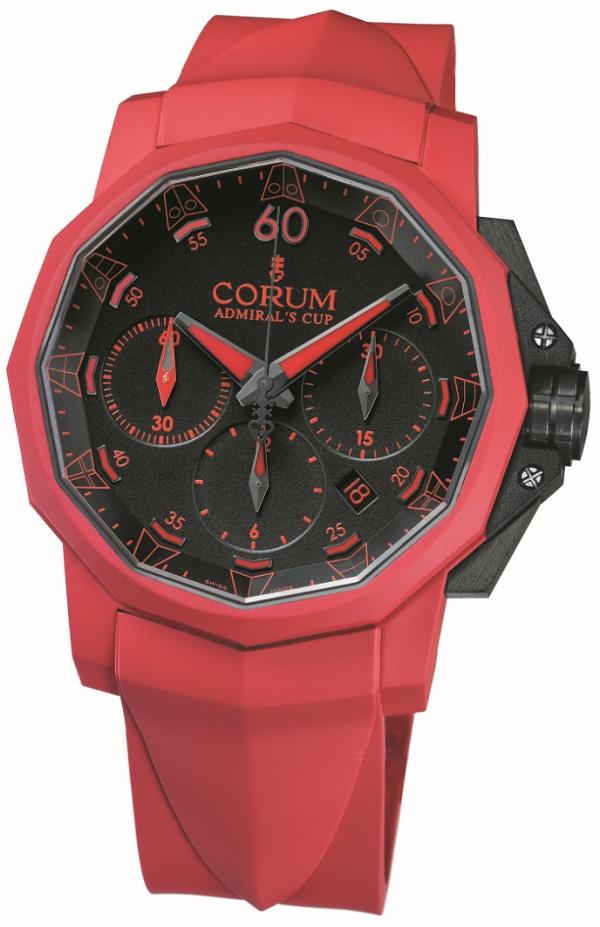 ���� Corum Admiral�s Cup Callenger 44 Chrono Rubber