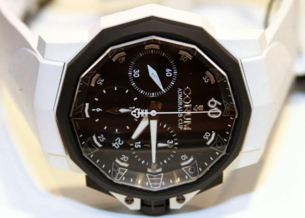 часы Corum Admiral's Cup Callenger 44 Chrono Rubber
