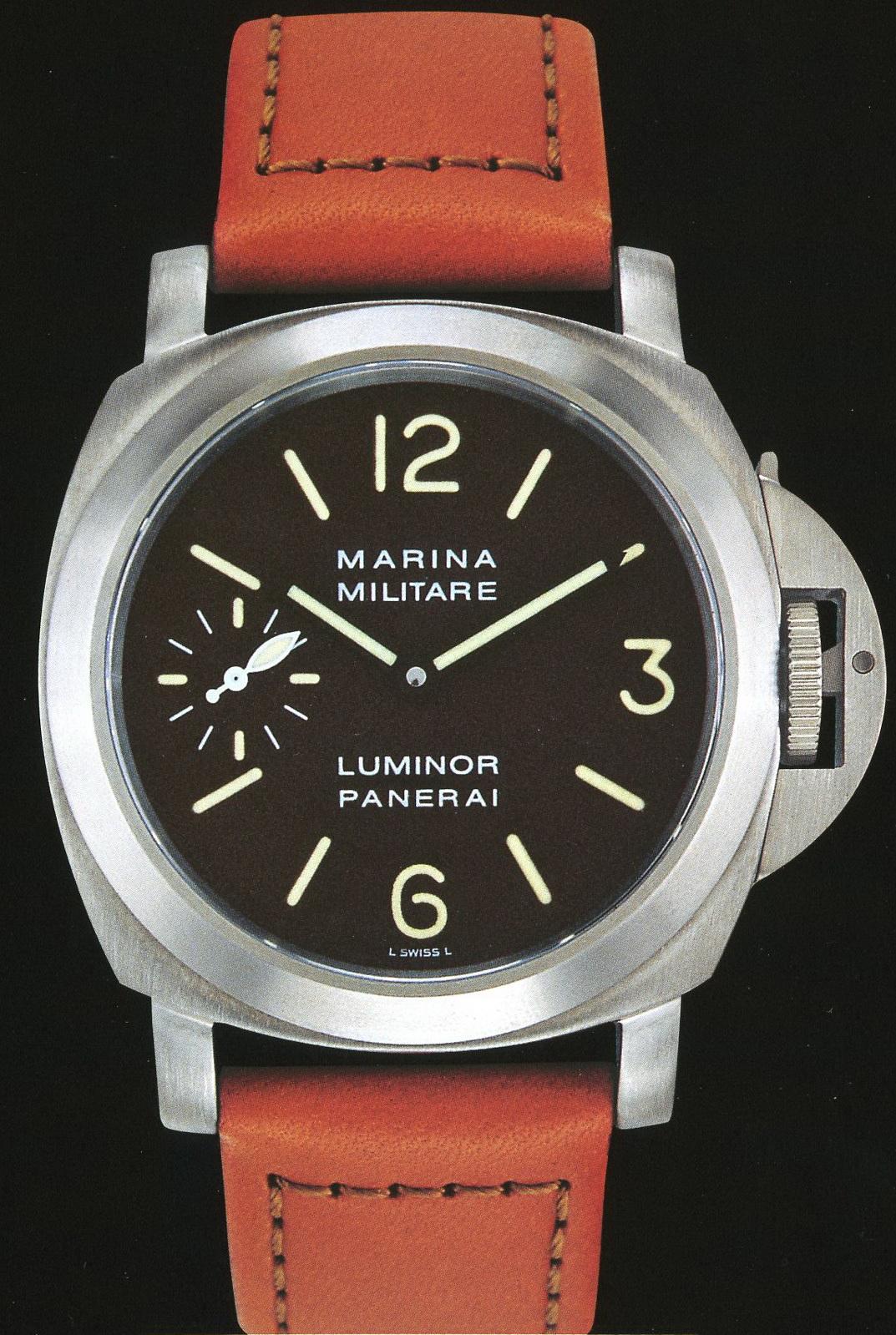 часы Panerai 1998 Edition Luminor Marina Militare