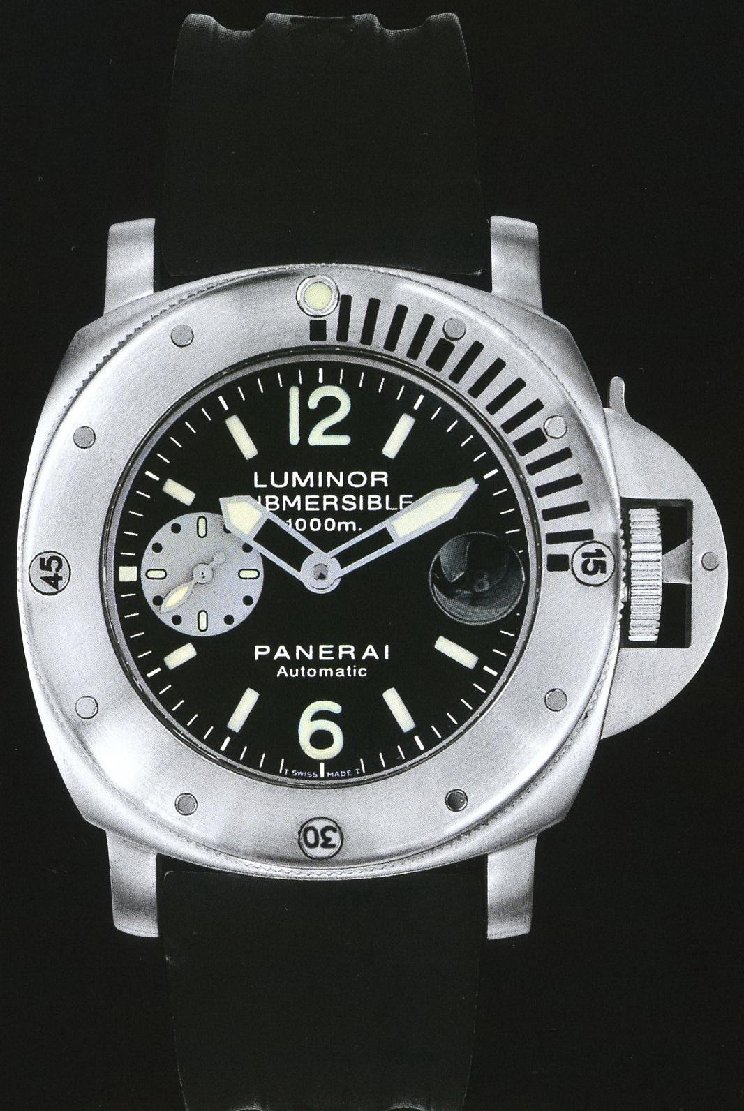 часы Panerai 2000 Special Edition Luminor Submersible