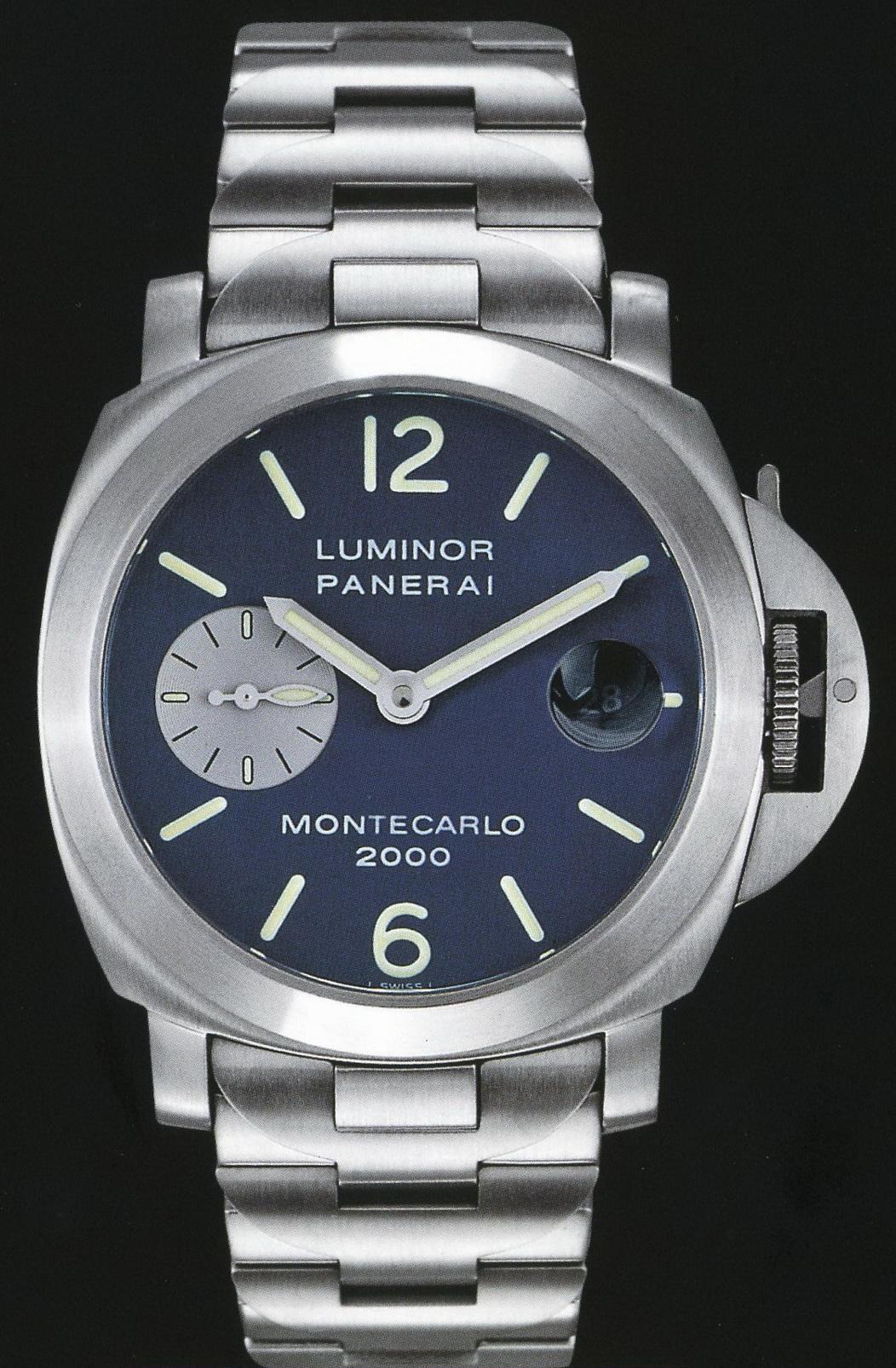 часы Panerai 2000 Special Edition Luminor Automatic Montecarlo 2000