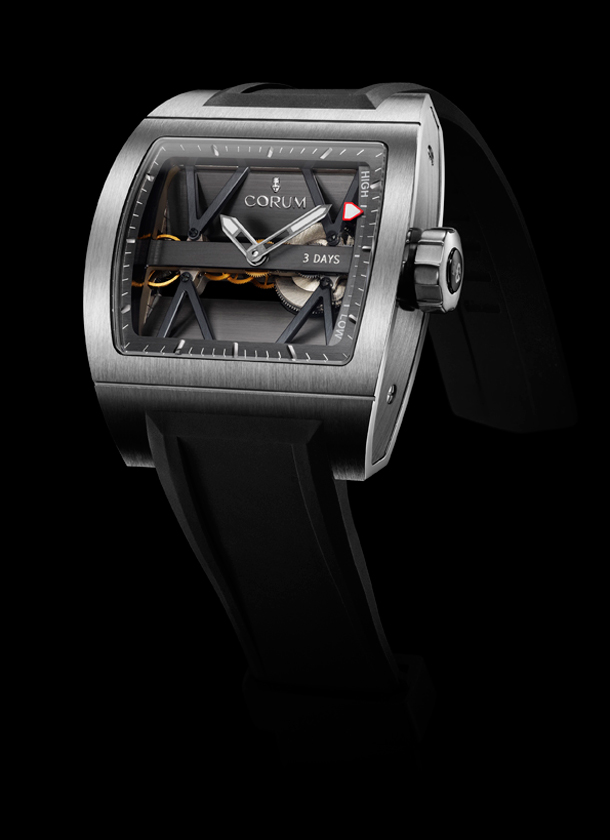 часы Corum Ti-Bridge Power Reserve