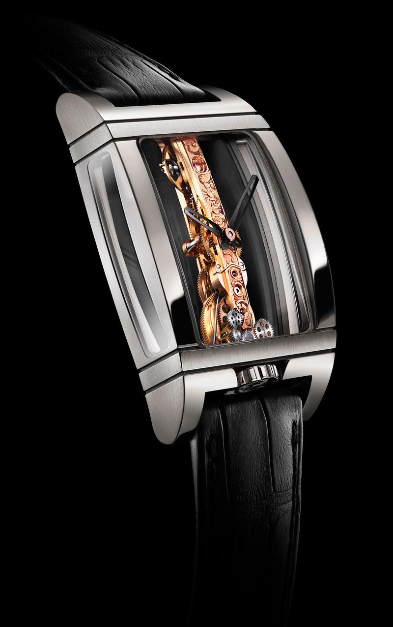 часы Corum Golden Bridge Titanium Limited