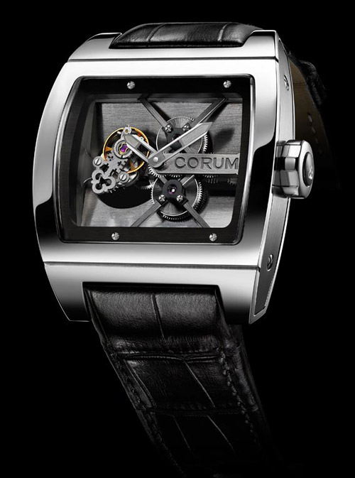 часы Corum Ti-bridge Tourbillon