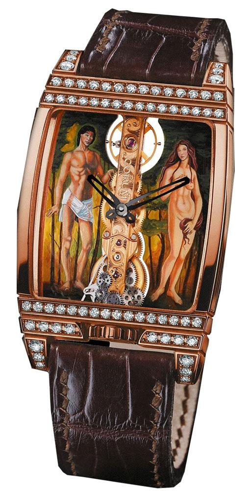 часы Corum Golden Bridge Adam & Eve Diamond Limited 50