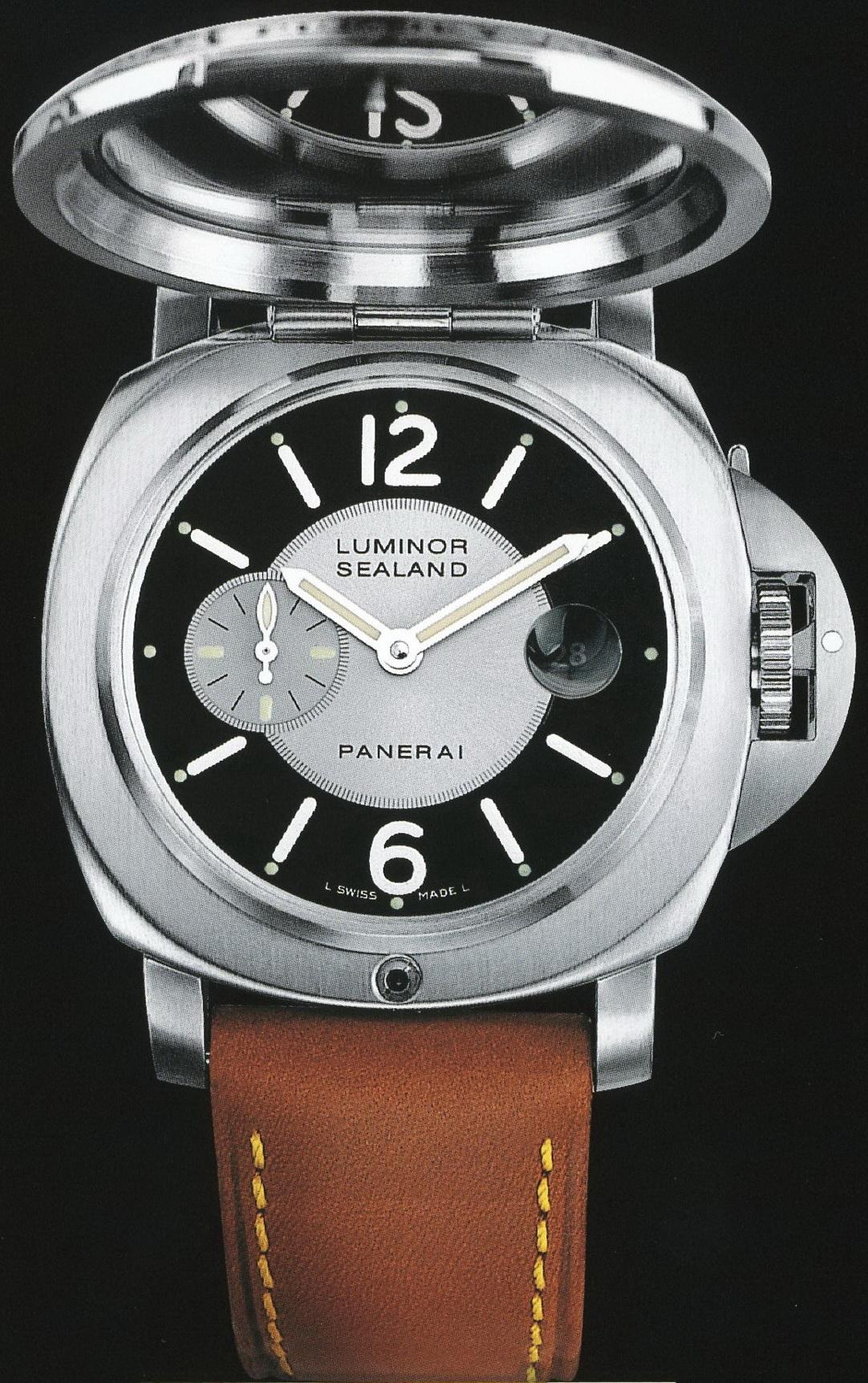 часы Panerai 2002 Special Edition Luminor Sealand for Purdey