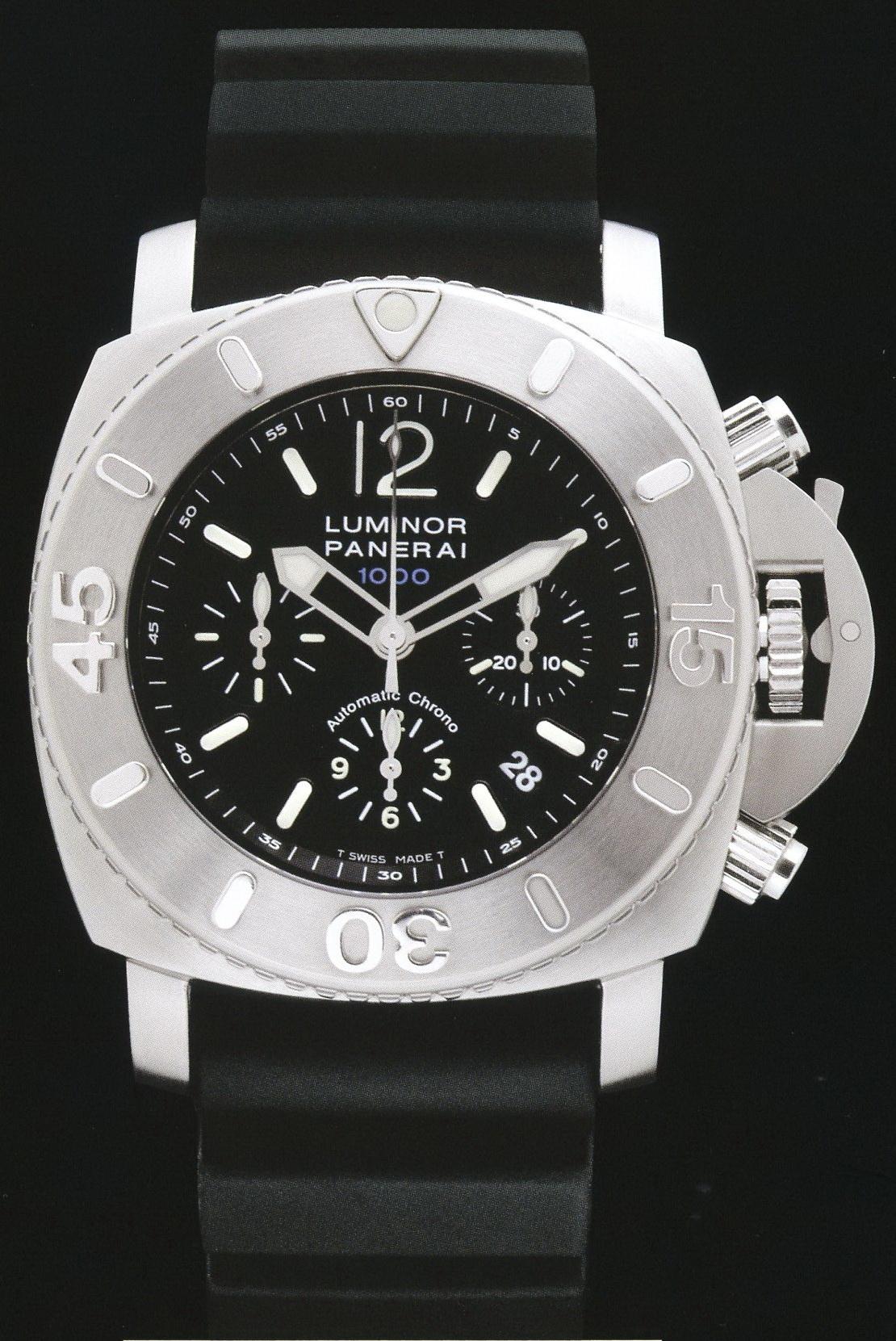 часы Panerai 2004 Special Edition Luminor Submersible Chrono 1000m