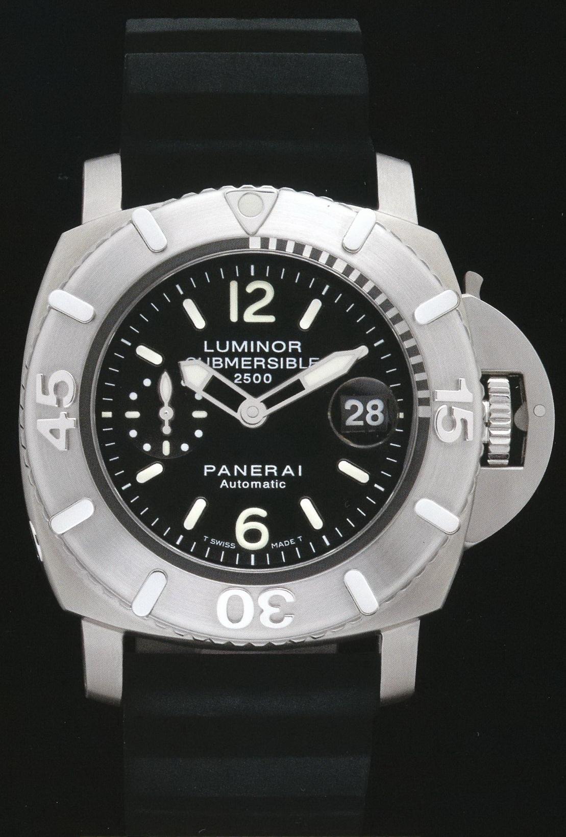 часы Panerai 2004 Special Edition Luminor Submersible 2500m