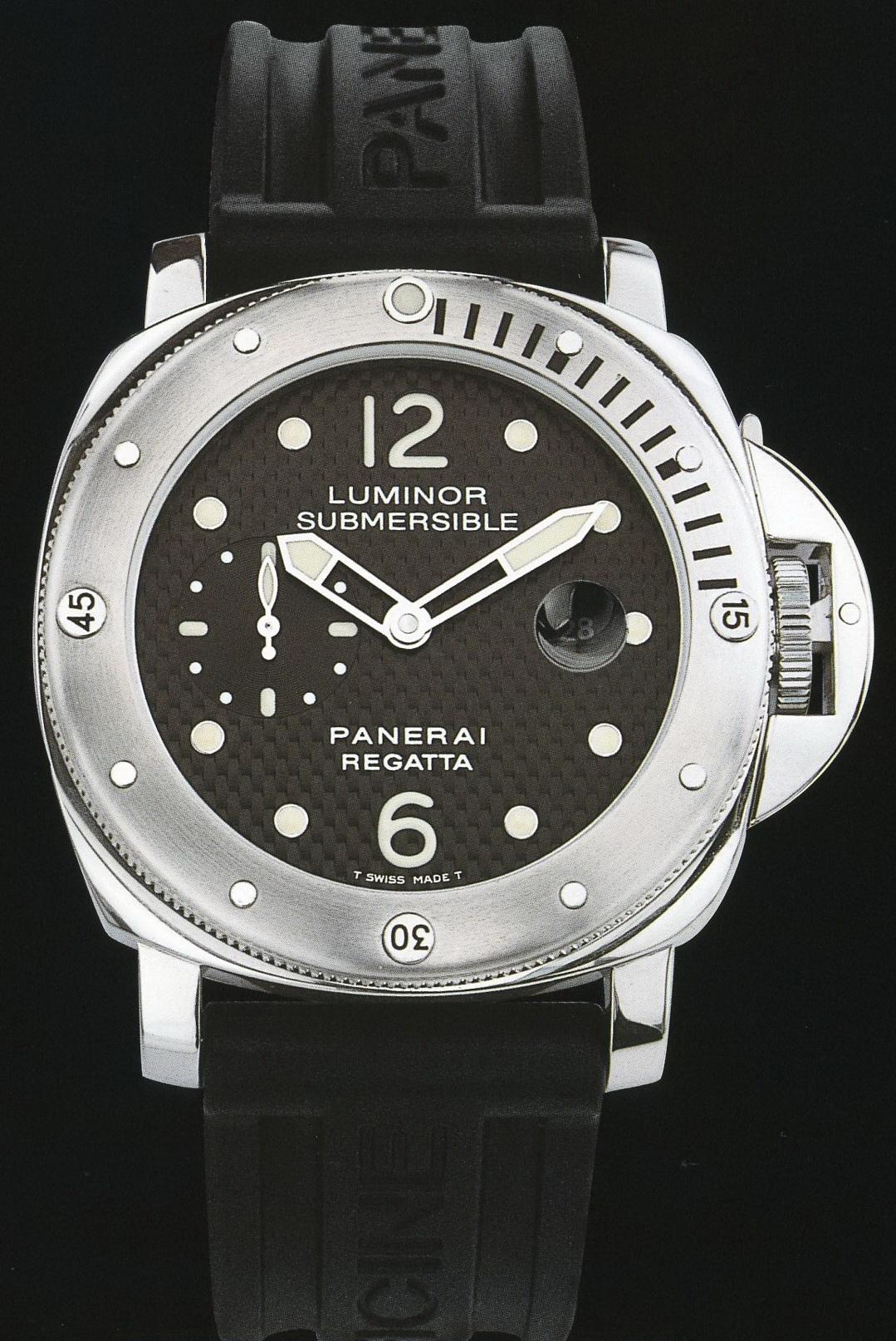 часы Panerai 2004 Special Edition Luminor Submersible Regatta 2004