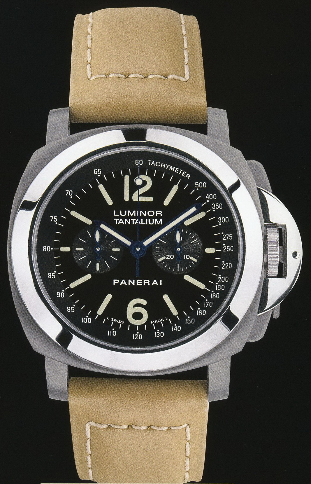 часы Panerai 2004 Special Edition Luminor Chrono Tantalium