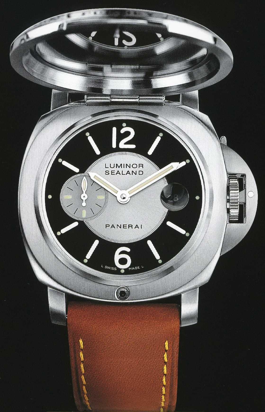 часы Panerai 2004 Special Edition Luminor Sealand for Purdey