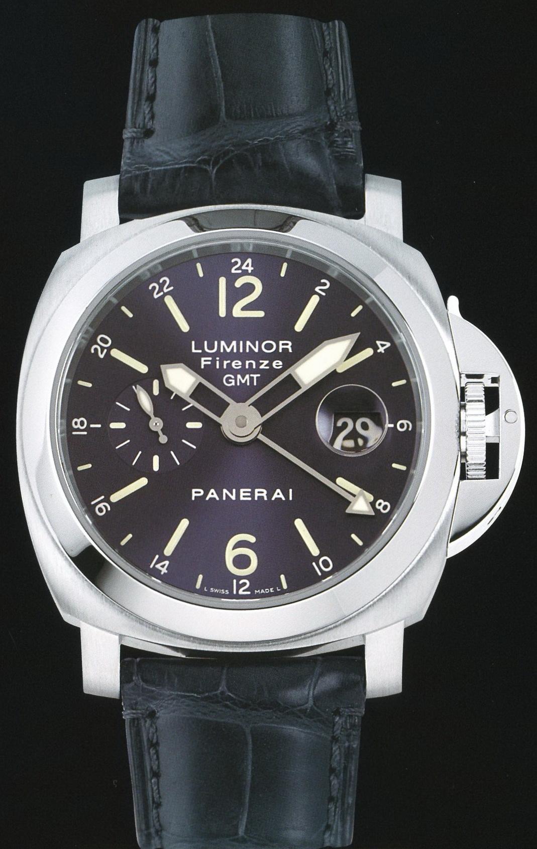 часы Panerai 2005 Special Edition Luminor GMT Firenze