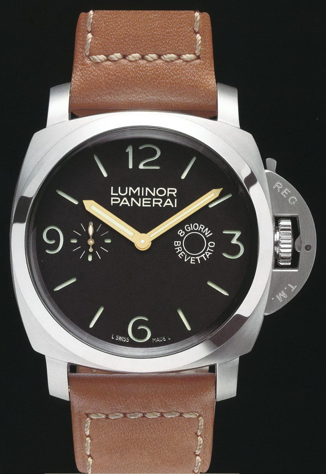 часы Panerai 2005 Special Edition Luminor 1950 8 Days