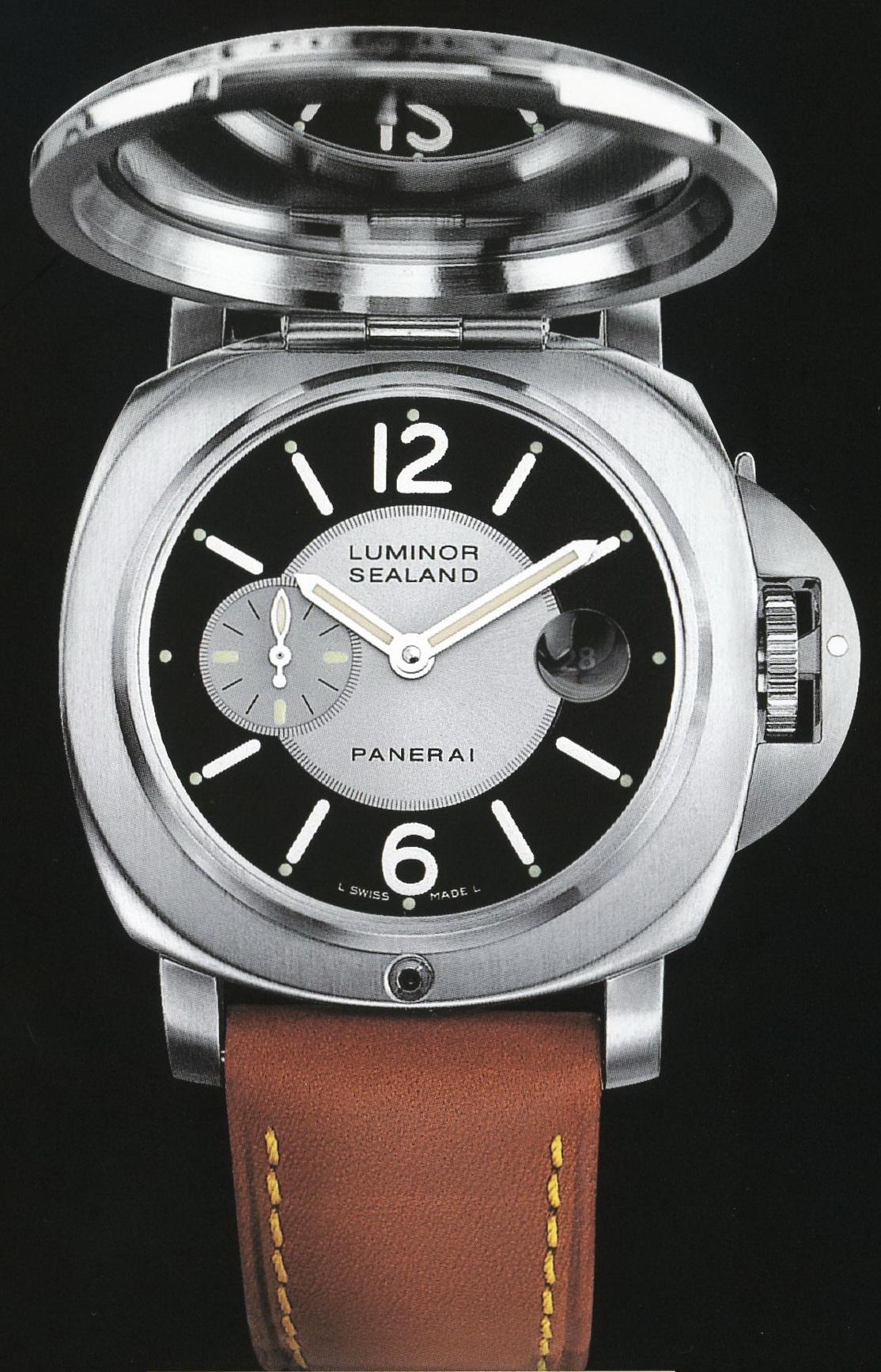 часы Panerai 2005 Special Edition Luminor Sealand for Purdey
