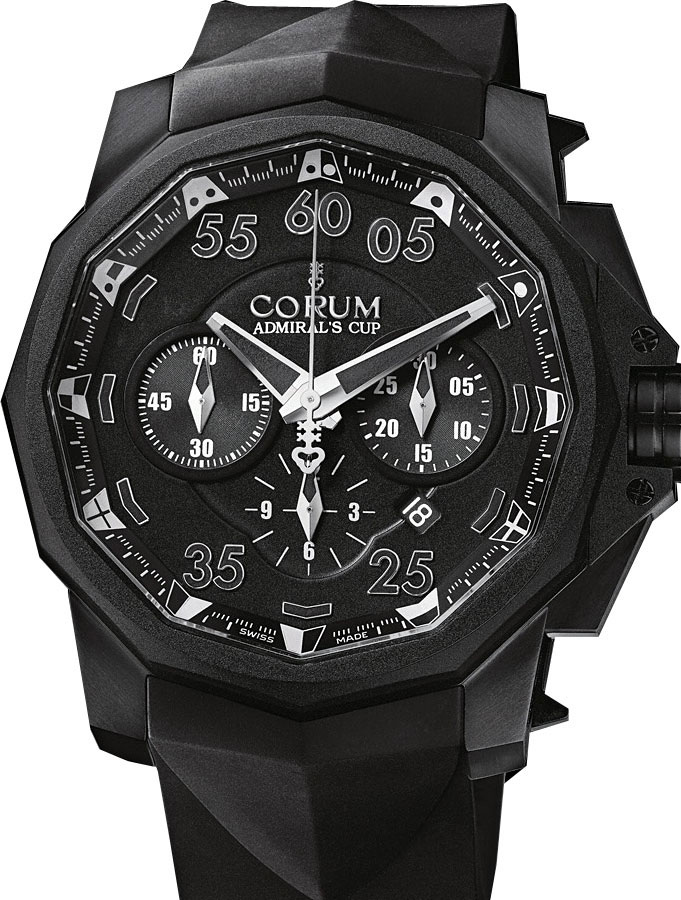 часы Corum Admiral Cup Black Hull 48