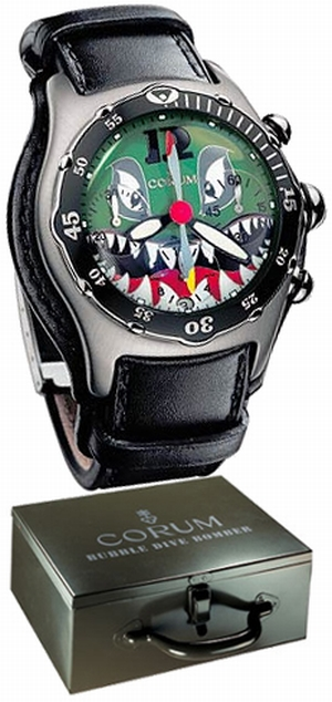 часы Corum Bubble Dive Bomber Chronograph Limited