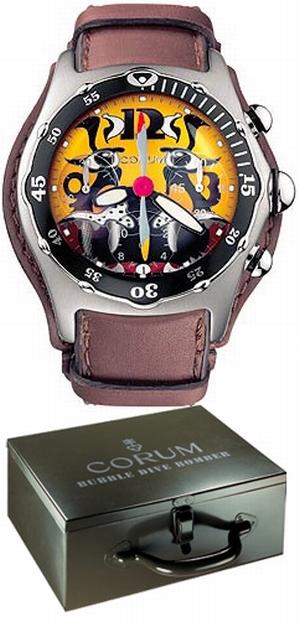 часы Corum Bubble Dive Bomber Chronograph