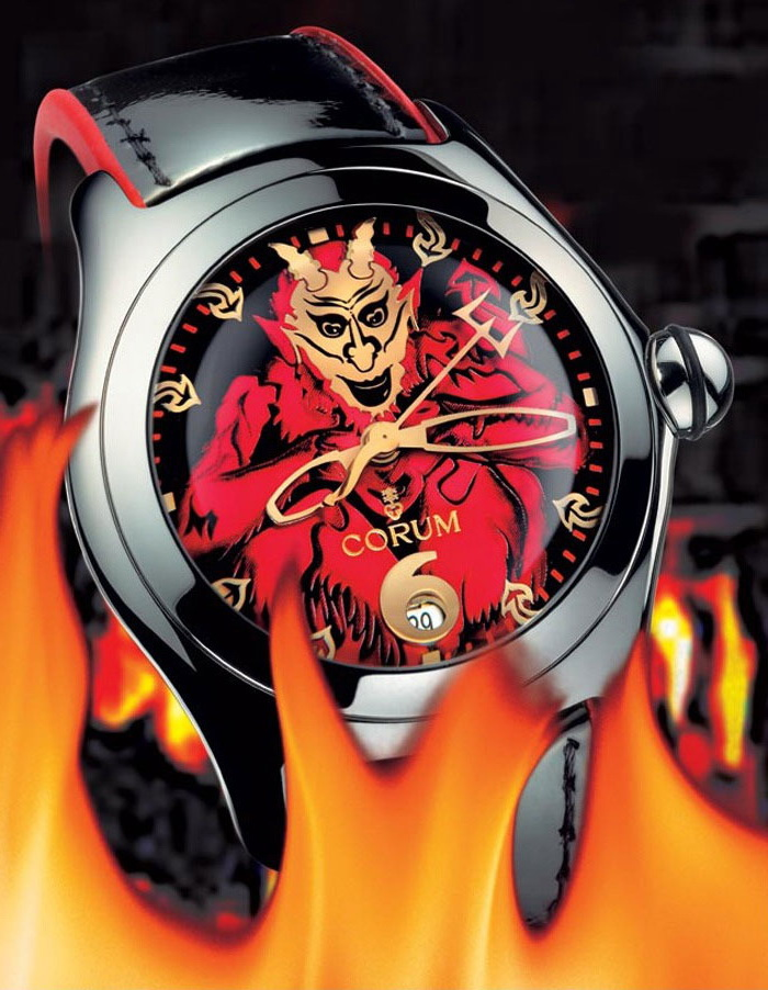часы Corum Bubble Lucifer