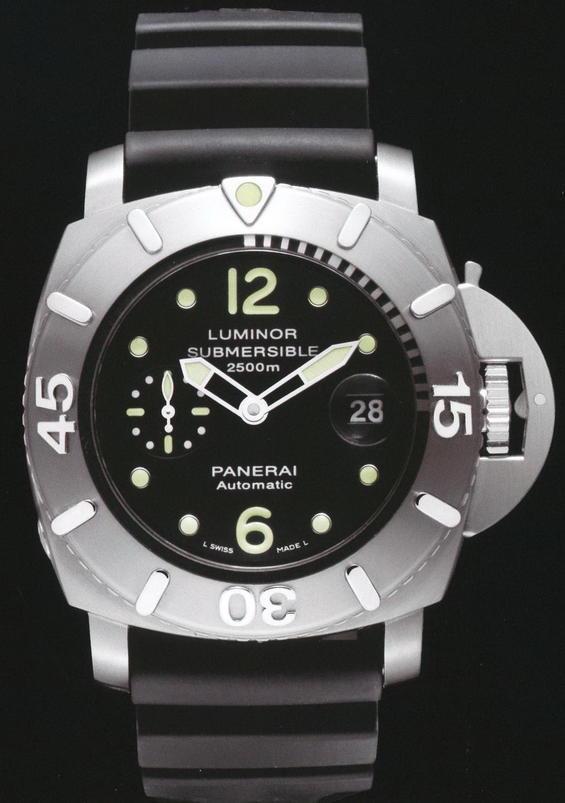 часы Panerai 2008 Special Edition Luminor 2500m